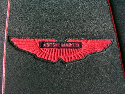 Custom Aston Martin floor mat kits