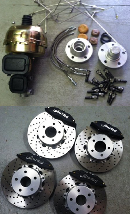 NASCAR Brake Kit 6 Piston Martinsville Calipers
