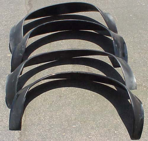 Part # BP1010 GT4 Flairs: Fiberglass-As Original (4 Pcs.)