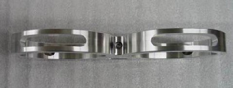 Billet Water Bottle Bracket Polished
