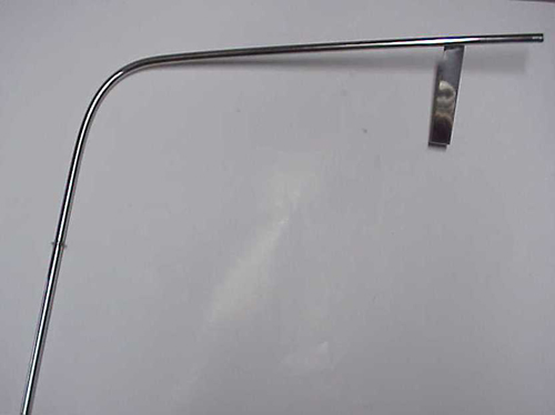 DeTomaso Pantera Part # EN3092 Dip Stick Tube (Polished S.S.)