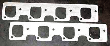 DeTomaso Pantera Header Gaskets Steel heads