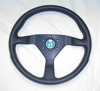 DeTomaso Pantera Part # IN2065 MOMO STEERING WHEEL W/ LOGO