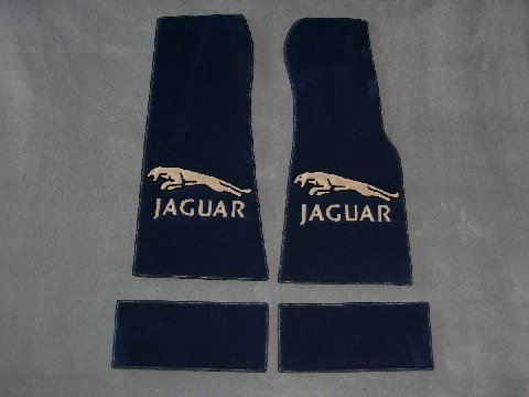 Custom Jaguar Floor Mat Kits