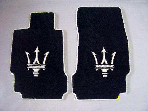 Custom Maserati Floor mat kits