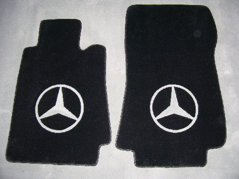 Custom Mercedes Benz Floor Mat Kits