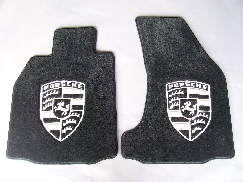 Custom Porsche Floor mat kits